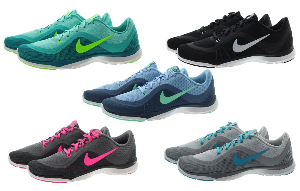 new styles dbe12 61d36 Details about Nike 831217 Womens Flex Trainer 6 Lightweight Cross Training  Running Shoes