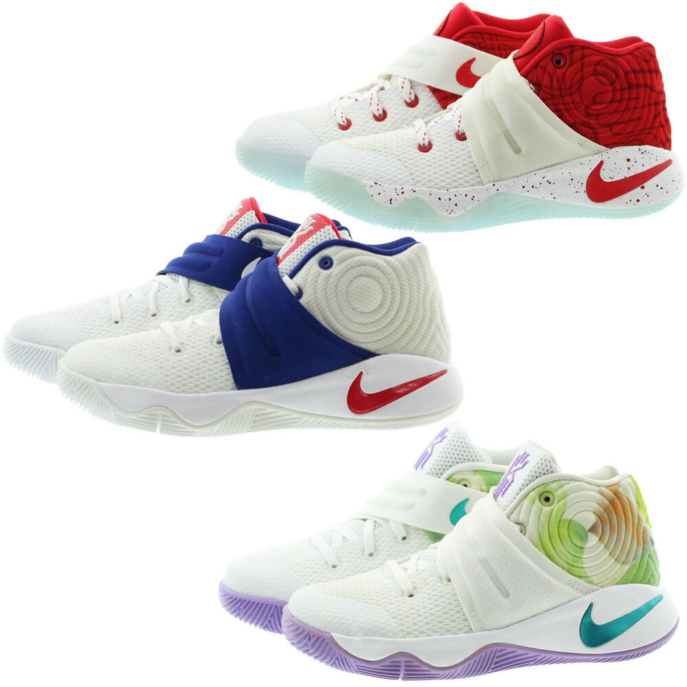 buy online 258ad 11224 Details about Nike 827280 Toddler Kids Youth Boys Girls Kyrie 2 Basketball  Shoes Sneakers