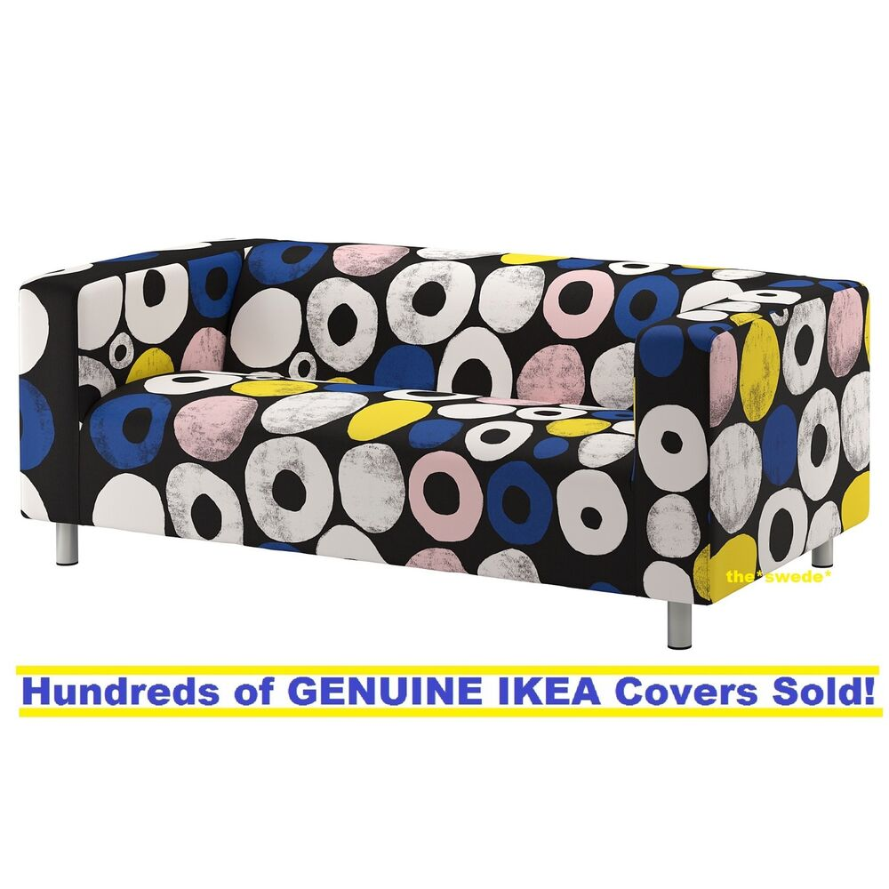 Details About Ikea Klippan Loveseat 2 Seat Sofa Cover Slipcover Sangis Multicolor New Sealed