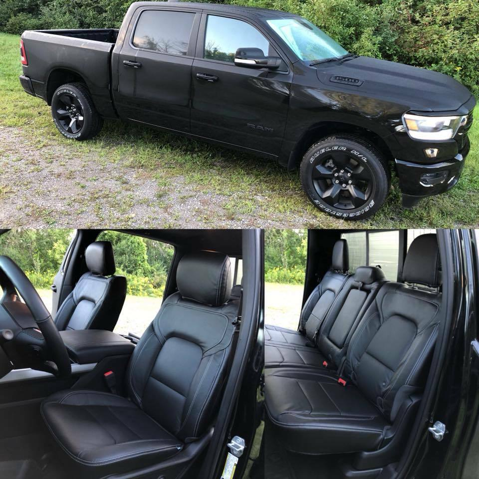 2019 Ram 1500: 2019 Ram 1500 Big Horn / Lone Star Black Katzkin Leather