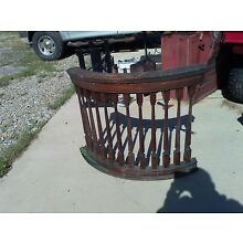 Antique Stair Rail Balcony Ballisters .Architectural Salvage.RARE Spindals