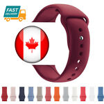 For Apple Watch Band 42mm 38mm Silicone Band Strap L and M Size Various Colors