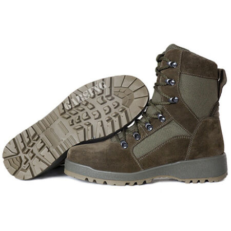 img-Men's Combat Boots Tactical Russian Leather Garsing Leightweight Hiking Olive