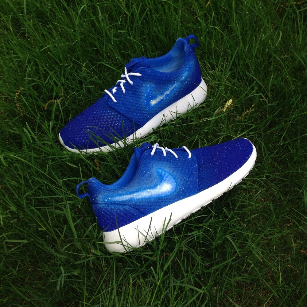 e768a07d3a256 Details about Custom Nike Roshe One BR Galaxy Roshes Run Mens Shoes