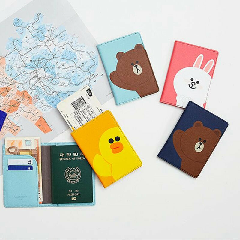 Luggage & Bags Coin Purses & Holders Cartoon Rilakkuma Travel Passport Holder Document Card Passport Case Passport Cover Passport Holder Protect Cover Worldwide Sale