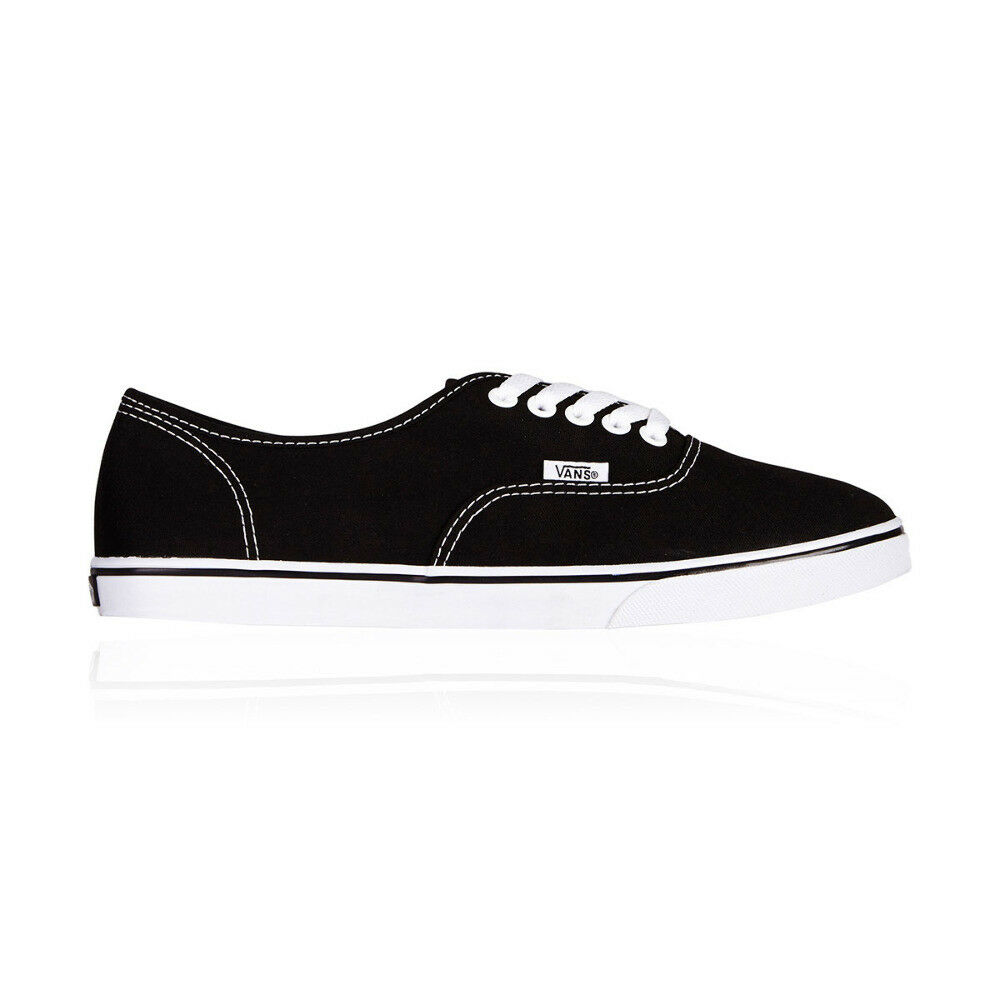 db1ea30b6a7 Details about Vans Authentic Lo Pro Casual Shoes - Mens Womens Unisex -  Black True White