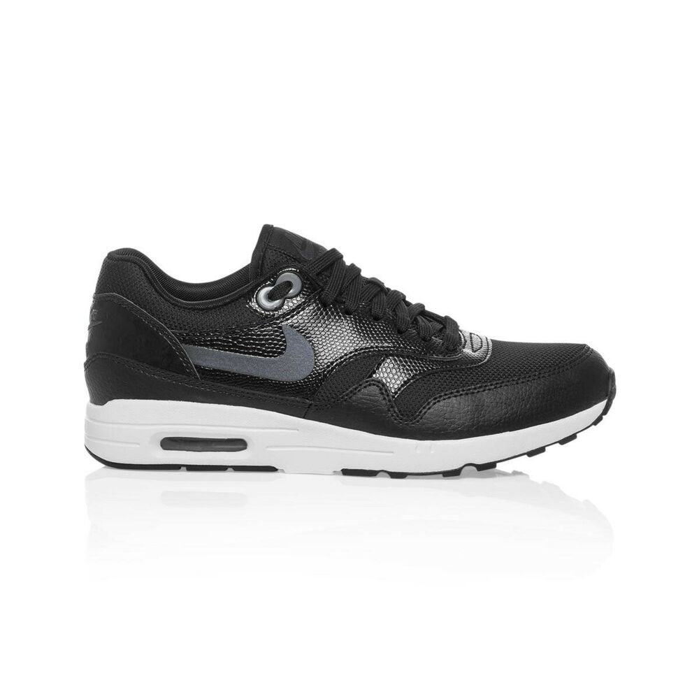 the latest 98ed2 9a56c Details about Nike Air Max 1 Ultra 2.0 Women s shoe - Black Black White Metallic  Hematite