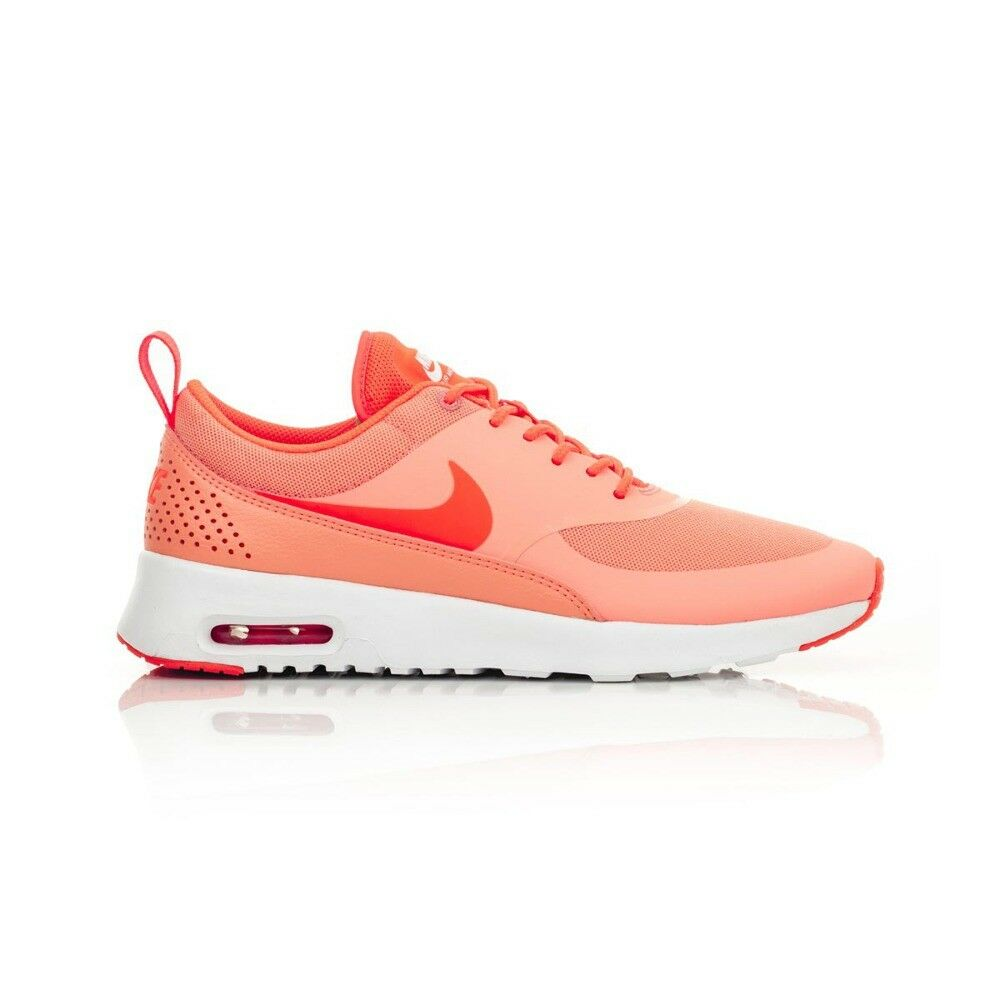 988dd235c1c01 Details about Nike Air Max Thea Women s shoe - Atomic Pink Total  Crimson White