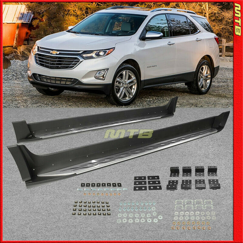 For Chevy Equinox 2018-2019+ Sidesteps Running Boards Nerf