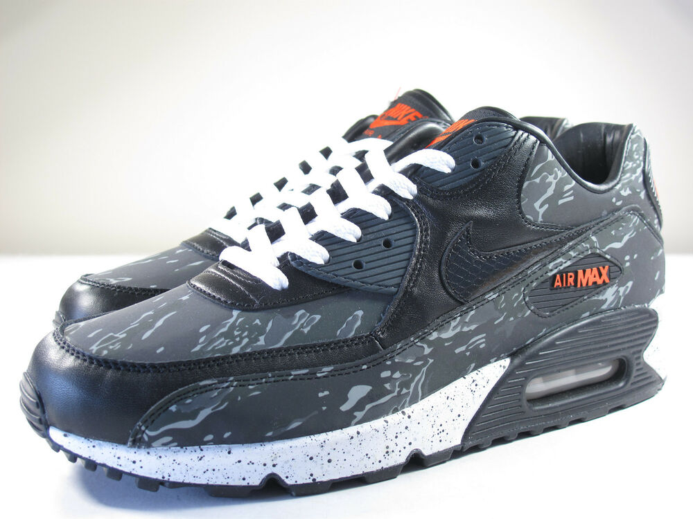 DS NIKE 2013 AIR MAX 90 ATMOS TIGER CAMO DARK CHARCOAL 12 FLYKNIT 1 DUCK 95 180 | eBay