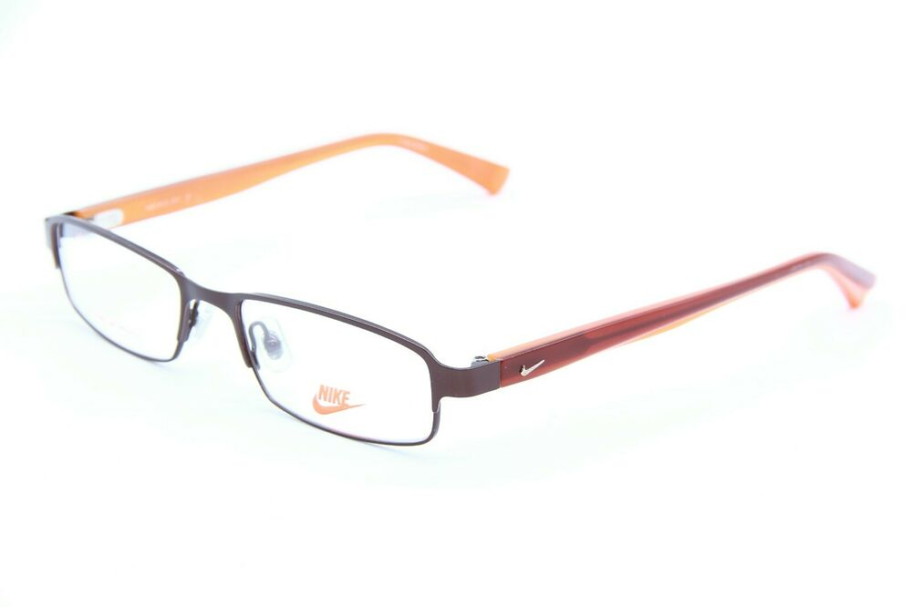 cd77c2e5d2 Details about NEW NIKE 8012 211 BROWN EYEGLASSES OPTICAL AUTHENTIC EYEWEAR  RX 52-17