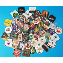 Heineken 2019 Rugby World Cup Pack of Beer Mats Sleeve Pub Home Bar Man Cave