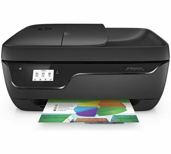 HP OfficeJet 3835 All-in-One Wi-Fi Multifunction Printer