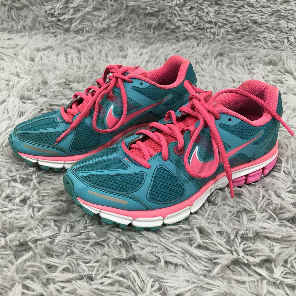 Details about Nike Air Pegasus 28 Women s Size 6 Pink Blue Athletic Fitsole  2 running shoes a4a21df18