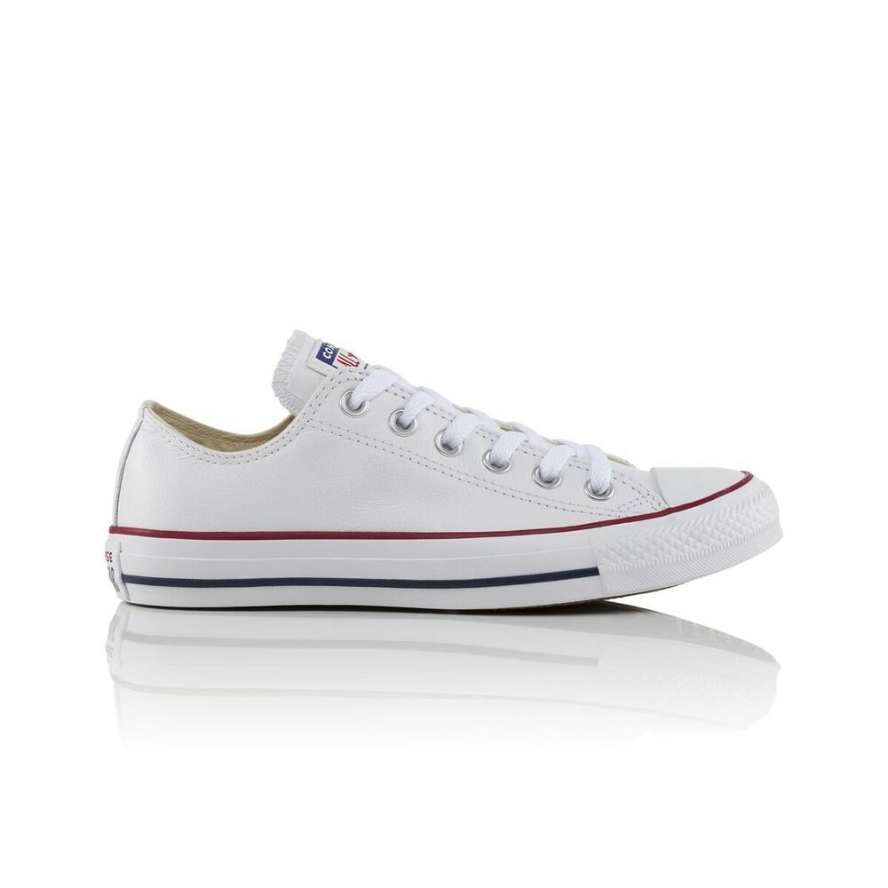 Details about Converse Chuck Taylor All Star Low Leather Casual Shoes -  Mens Womens Unisex - O 2cfb1a1b11