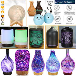 Kyпить Air Aroma Essential Oil Diffuser LED Ultrasonic Aroma Aromatherapy Humidifier US на еВаy.соm