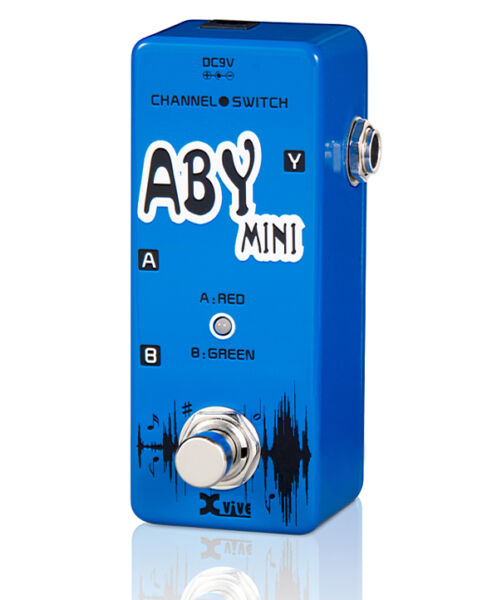 XVIVE V12 ABY MICRO SWITCHER PEDAL (SIMILAR TO MOOER)