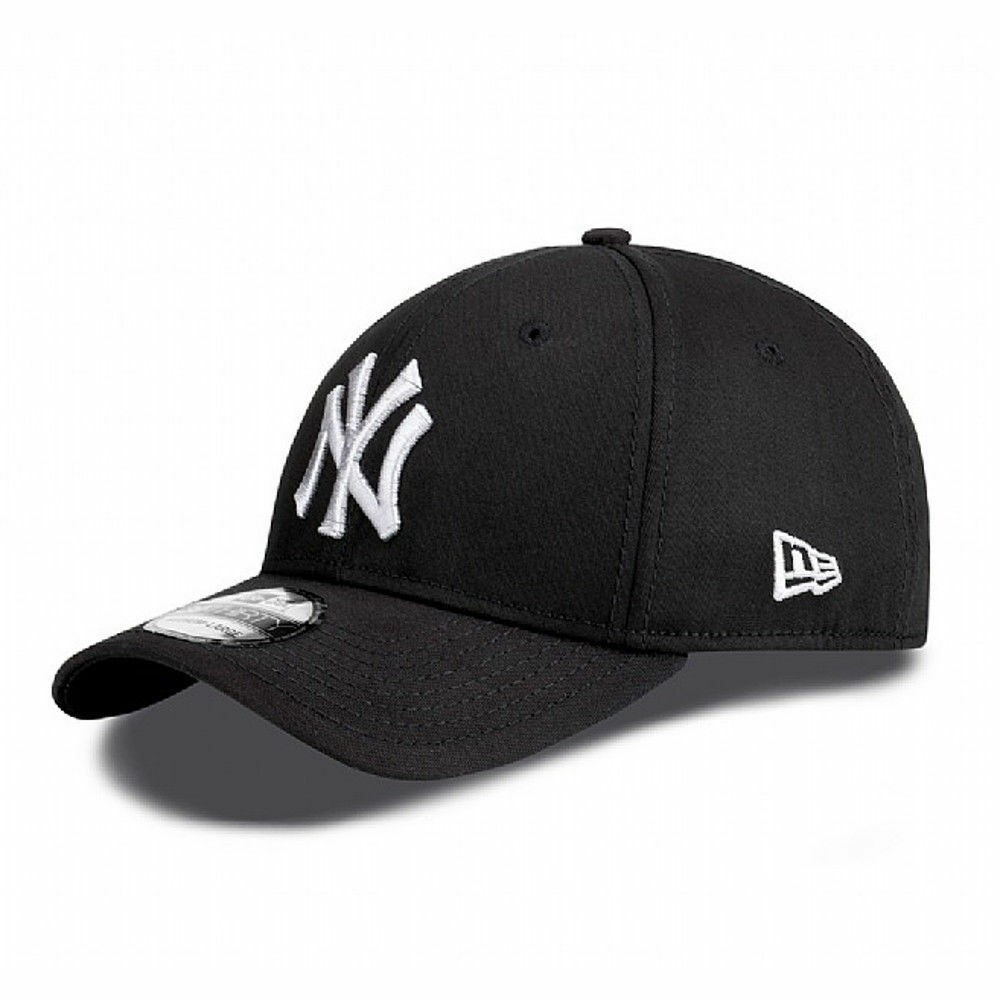 a822145d34e Details about New Era Men s Classic 39Thirty New York Yankees Cap Black  White BNWT