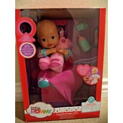 FISHER PRICE LITTLE MOMMY GOODNIGHT SNUGGLES BABY INTERACTIVE  *NEW*