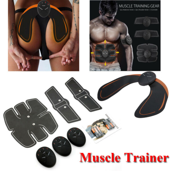 Beauty Body Gym Smart Fitness Fit Boot Toning Hips Trainer Abs Muscle Stimulator