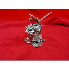 Vintage Unique Amazing Silverplate Butterfly Napkin Ring Reed & Barton (4854)