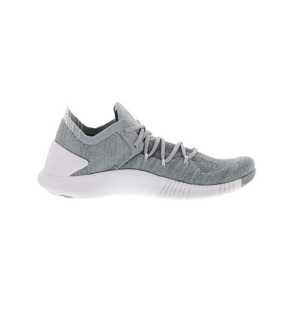 bcb4a15fcd14a Details about Womens NIKE FREE TR FLYKNIT 3 Wolf Grey Trainers 942887 002