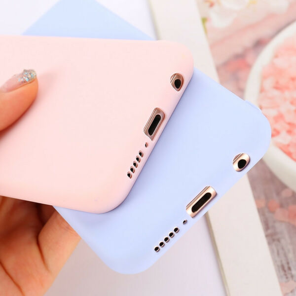 Candy Color Case for Huawei Y5 Y6 Y7 Y9 Honor 8x P20 Cover Smart Soft Silicon