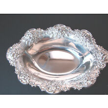 1 KIRK & SON Repousse Sterling GORGEOUS 0VAL 4 7/8