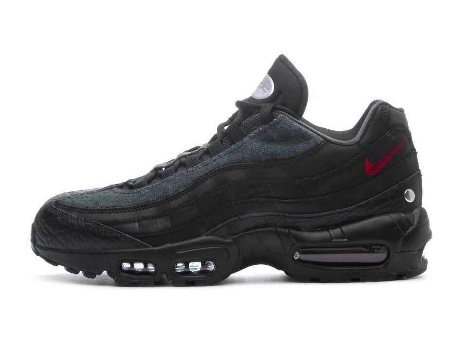 8fa3df858221cd Details about Nike Men s AIR MAX 95 NRG Shoes Black Team Red-Anthracite  AT6146-001 c