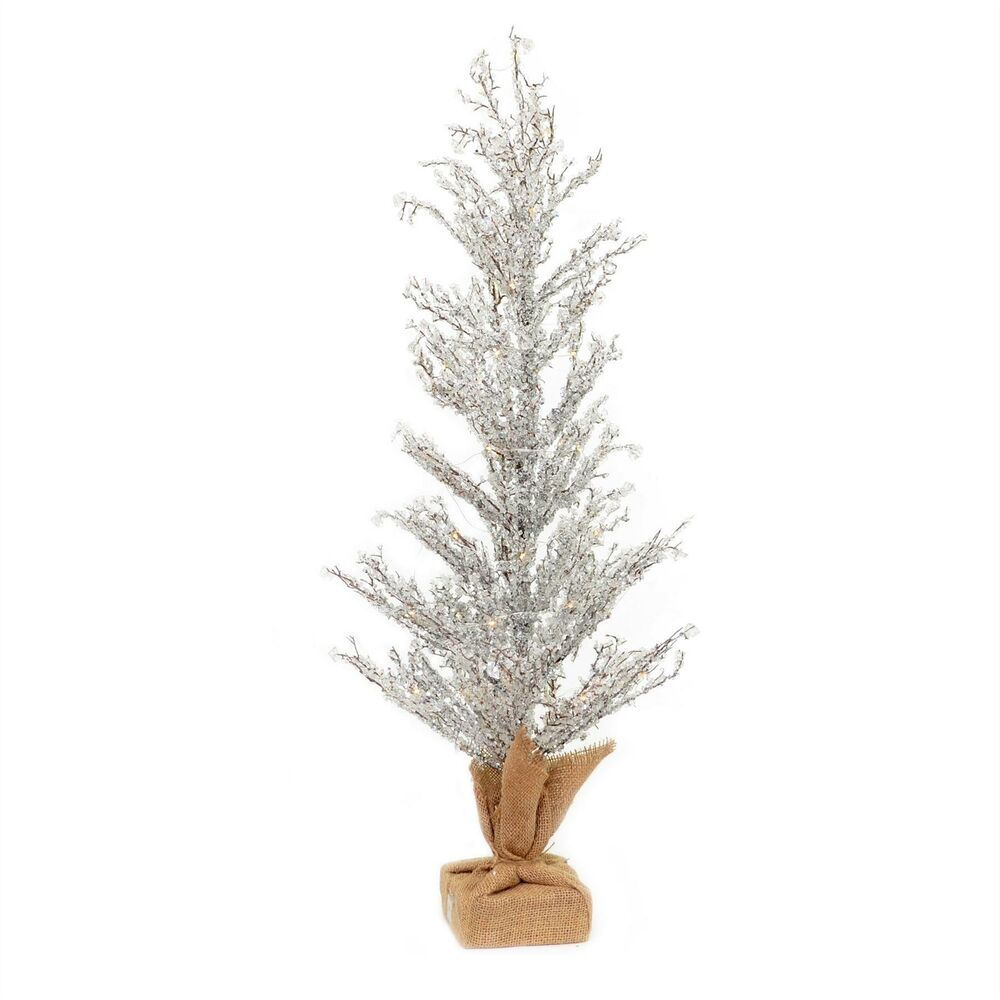Details About 36in Pre Lit Battery Operated Christmas Tree Indoor Warm White Light