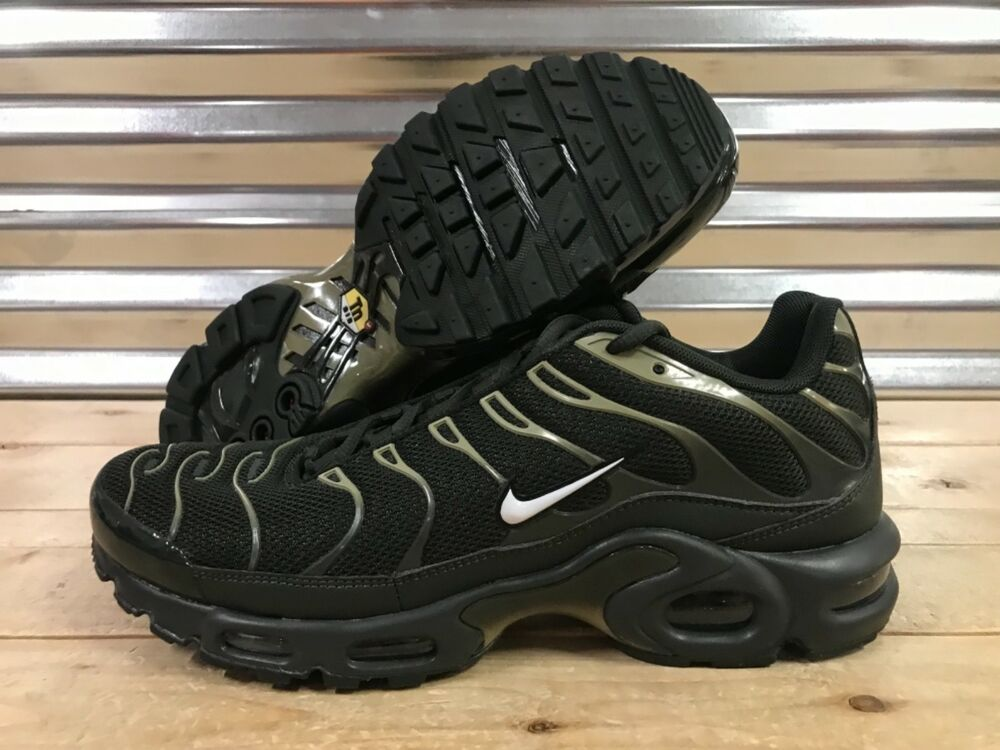 premium selection ebbee f064d Details about Nike Air Max Plus TN Tuned Running Shoes Sequoia Green Olive  SZ ( 852630-301 )
