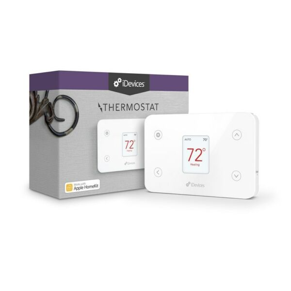 iDevices Thermostat Programmable w/ Built in WiFi - Apple & Alexa - NEW SEALED -