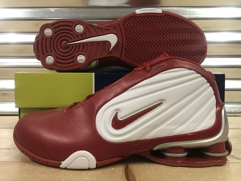 6733cda1339865 Details about Nike Shox Limitless TB Shoes Vince Carter Varsity Red White  SZ 11 ( 304788-161 )