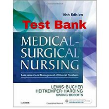 Medical-Surgical Nursing 10th edition, Lewis, TEST BANK E-FILE