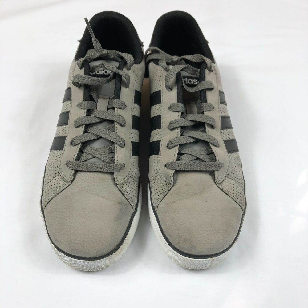cde56a246a6 Details about Adidas NEO Label Ortholite RARE Skate Granite Gray Black Mens  Shoes Size 8.5