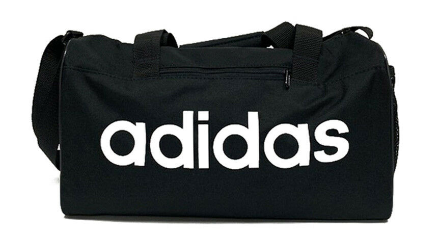 c85d194f423a Details about adidas Training Linear Core Duffle Bag XS Outdoor Fitness  Soccer Black DT4818
