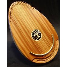 Tranquility Therapy Harp by Gabrielle Harps, with padded carrying case,