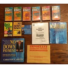 NEW Unopened Carleton Sheets No Down Payment Real Estate CD VHS Video Deluxe Set
