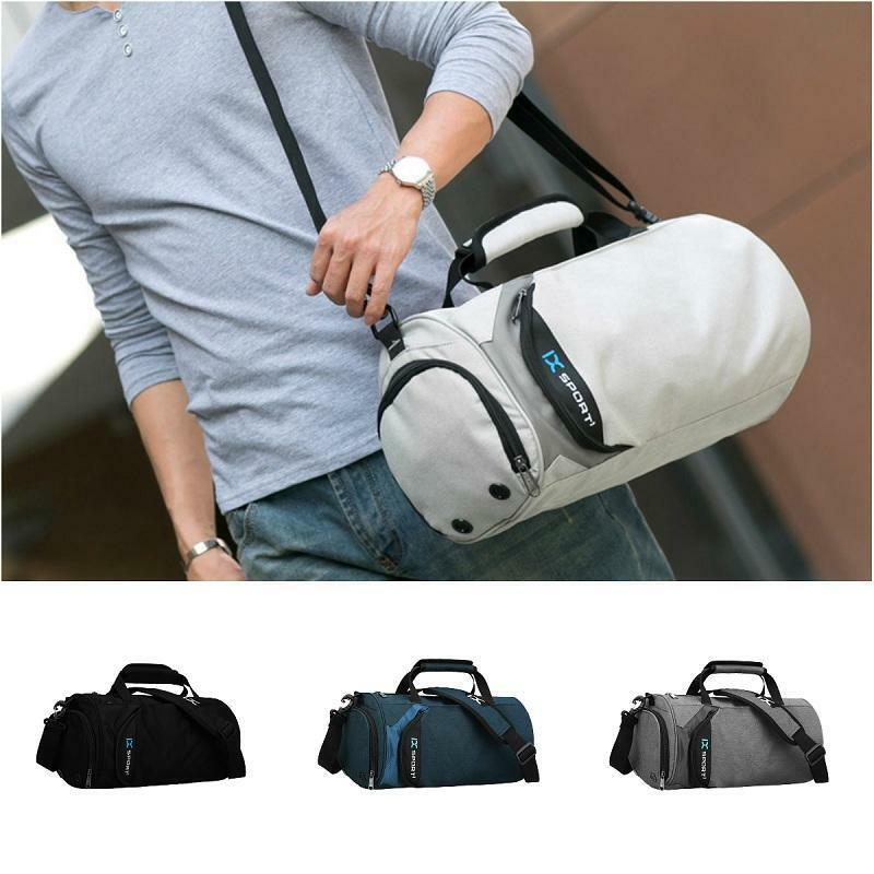 fdf7471879cf Details about Waterproof Gym Bag Sports Duffel Bag Outdoor Fitness Training  Travel Luggage Bag