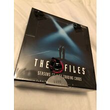 2018 X-Files Season 10 & 11 Factory sealed Trading card box 3 Autograph cards