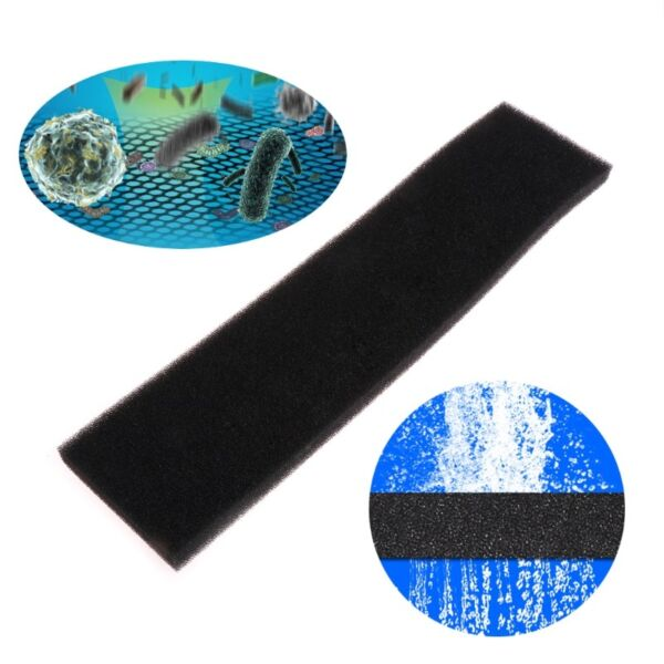 1PC Aquarium Biochemical Filter Foam Block Filtration Fish Tank Sponge Pads Blac