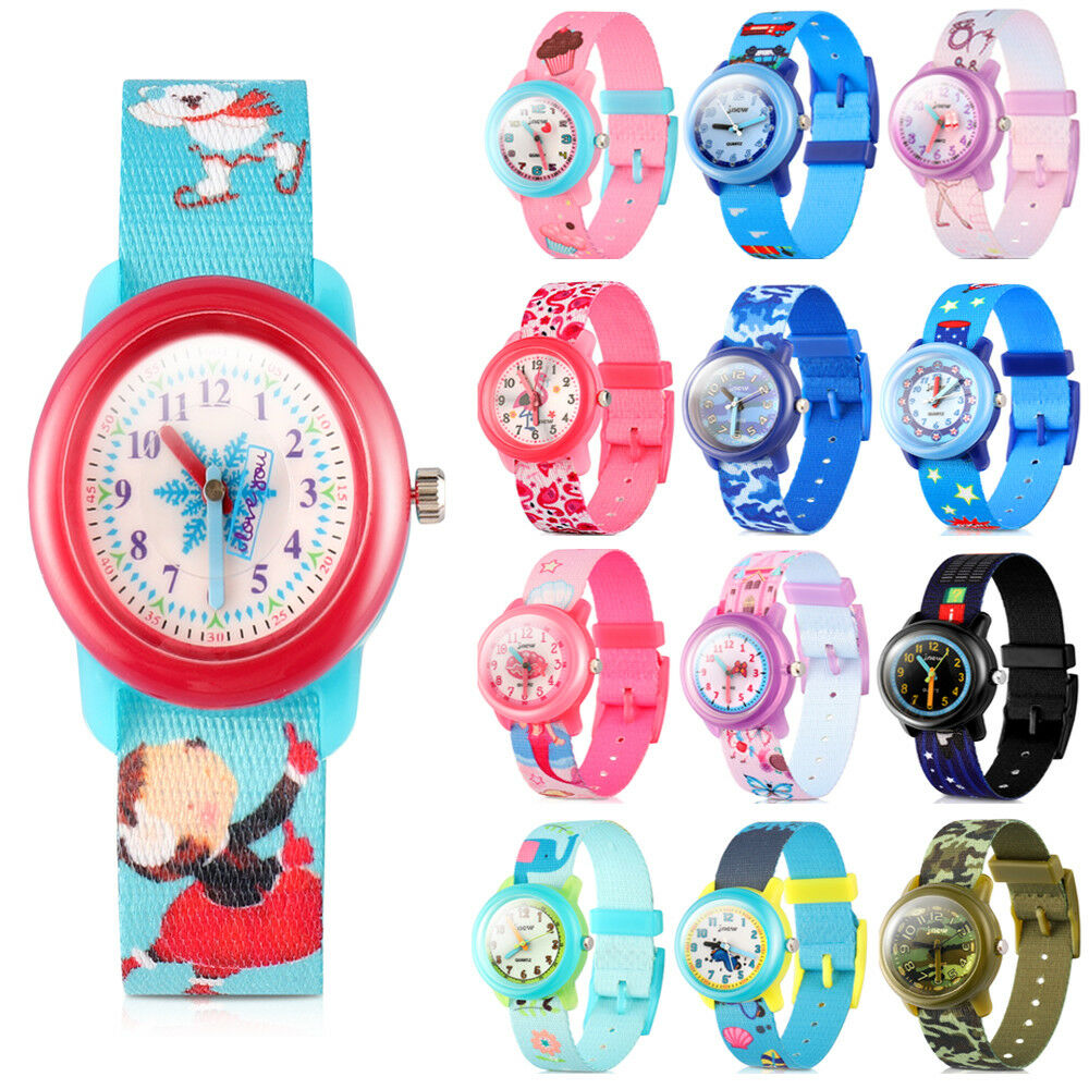 Details About Waterproof Kids Cartoon Silicone Watch For Little Boy Girl Toddler Birthday Gift