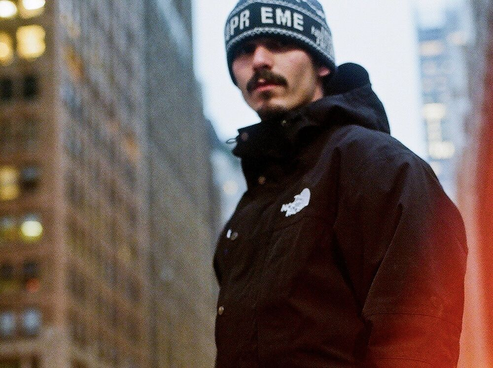 286de72ef75 Supreme The North Face Fold Beanie FW18 Black TNF confirmed Order