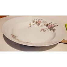 CFH GDM French antique hand painted porcelain 10 inch serving bowl dish