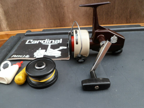 Vintage Abu Sweden Cardinal 66X Spinning Fishing Reel