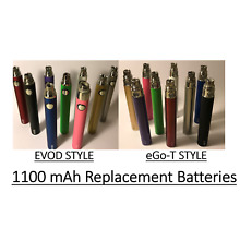 1100 mAh vape-pen EGO-T EVOD replacement battery *FREE USB CHARGER*