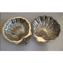 Silverplate Shell dishes Wallace Baroque