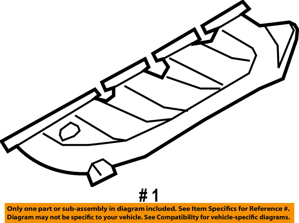 Ford Oem 08 10 F 250 Super Duty Exhaust Manifold 7c3z9431a