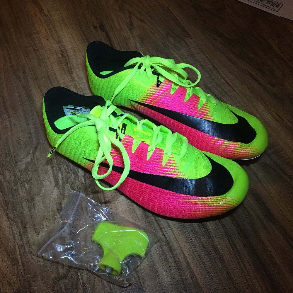 c7d131b23 Details about Nike Zoom JA FLY 3 OC Rio Track   Field Spikes Volt Pink  882032-999 Size 12