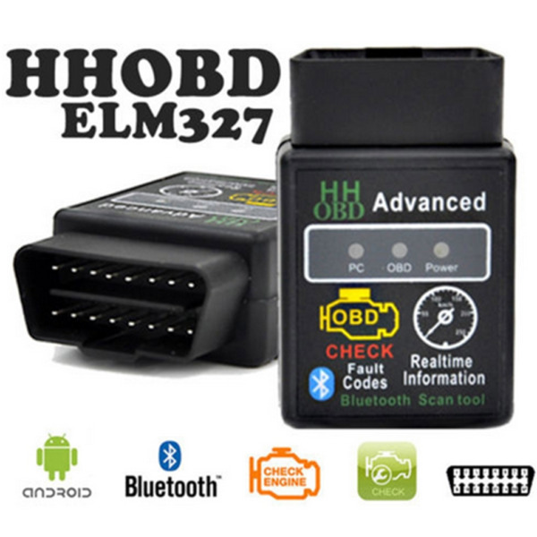 ELM327 V2.1 OBD2 Bluetooth PC Car Scanner Android Auto Torque Diagnostic Scan FK